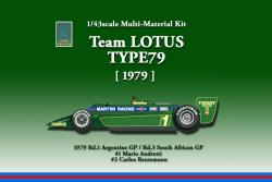 1:43 Lotus 79 1971 Multi-Media Model Kit
