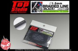 1.5mm Braided Line (Black)