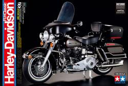 1:6 Harley-Davidson FLH Classic Black Version