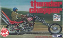 1:8 Thunder Chopper Custom Motorbike