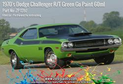 Green Go 1970's Dodge Challenger R/T Paint 60ml