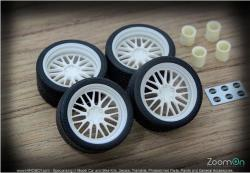 1:24 19'' BBS LM Wheels and Tyres