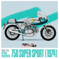 1:9 Ducati 750 Super Sport (1974) - Full Multi Media Kit