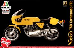 1:9 Norton 750 Commando PR Model Kit