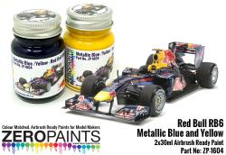 Red Bull RB6 Metallic Blue and Yellow Paint Set 2x30ml