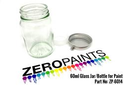 60ml Glass Jar/Bottle for Paint