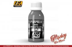 AK Interactive 100ml Grey Primer and Microfiller  AK758