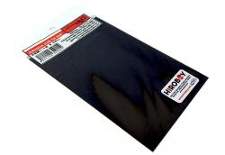 Adhesive Leather Look cloth Black - P919
