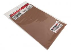 Adhesive Leather Look cloth Ocher Brown - P921