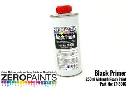 Airbrushing Black Primer/Micro Filler 250ml