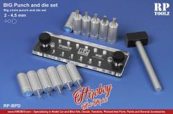 BIG Punch and Die Set (12 different punch tool from 2mm to 4.5mm)