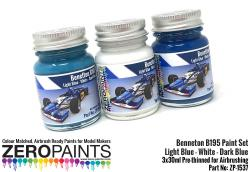 Benneton B195 Paints 3x30ml