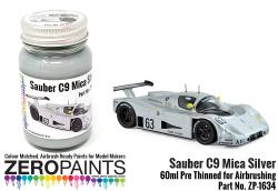 Silver Mica Paint 60ml for Sauber C9 Le Mans 1989