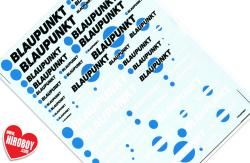 Blaupunkt Sponsor Decals (Various Scales)