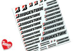 Bridgestone Sponsor Decals (Various Scales)