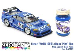 "Ferrari F40 LM 1995 Le Mans ""Pilot"" Blue Paint 60ml"