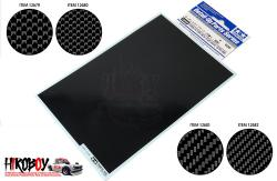 Carbon Pattern Decal Set - Plain Weave/Micro Fine - Tamiya 12680