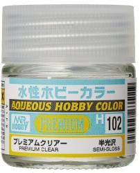 Mr Hobby Aqueous Premium Clear Semi-Gloss  (10ml) H102