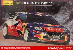 Citroen DS3 WRC 2012 Model Kit Heller