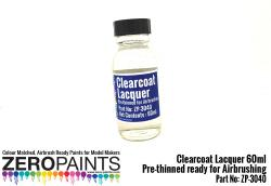 Clearcoat Lacquer 60ml - Pre-thinned ready for Airbrushing