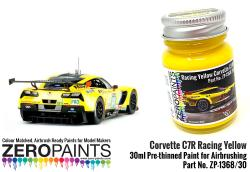 Corvette C7R Racing Yellow Paint 30ml