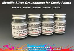 Course Metallic Silver Groundcoat for Candy Paints 60ml