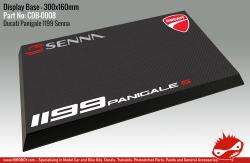 Senna Ducati 1199 Panigale Display Base for Model Kits 300x160