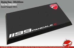 Ducati 1199 Panigale Display Base for Model Kits 300x160mm