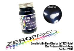 Deep Metallic Blue (Similar to TS53) Paint 60ml