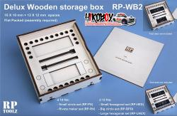 Deluxe Wooden storage box for 2 Punch and Die sets