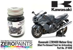 Kawasaki ZX-14 Pearl Crystal White Paint 30ml