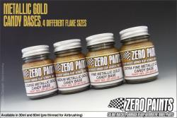 Extra Fine Metallic GOLD Groundcoat for Candy Paints 60ml