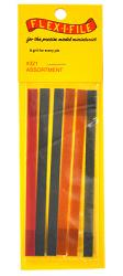 Flex-i-File - Abrasive Tape Assortment Pack x6