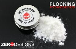 Flocking Powder - White