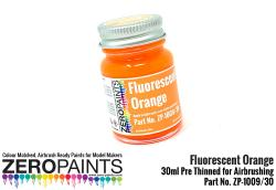 Fluorescent Orange Paint 30ml