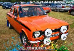 Ford Escort Mk1 and Mk2 Paints 60ml