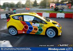 1:24 Ford Fiesta WRC #15 Rally Deutshland 2011 Decals H.Solberg - Decals for Belkits