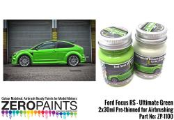 Ford Focus RS Ultimate Green Paint 2x30ml