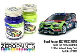 Ford Focus RS WRC 2010 Paint Set for Simil'R Kit 2x30ml