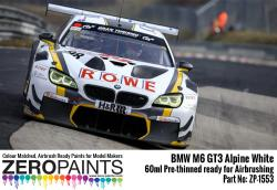 BMW M6 GT3 Alpine White Paint 60ml
