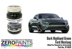 Ford Mustang - Dark Highland Green  Paint 60ml