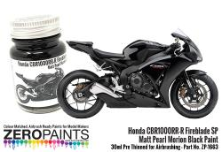 Honda CBR1000RR-R Fireblade SP Matt Pearl Morion Black Paint -30ml