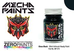 Gloss Black	 30ml - Mecha Paint