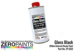Gloss Black Paint 250ml