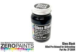 Gloss Black Paint 60ml