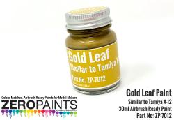 Gold Leaf Paint 30ml - Similar to Tamiya X-12