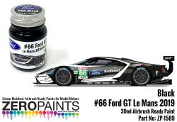 #66 Ford GT Le Mans Black Paint 30ml