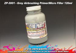 Grey Filler Primer 120ml for Airbrushing