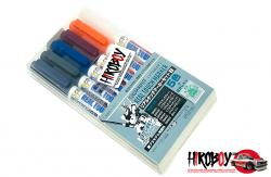 Gundam Marker Real Marker Set 1 Version (Set of 6) GMS112
