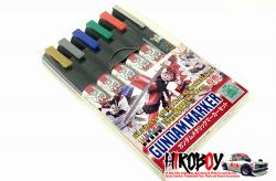 Gundam Marker Metallic Set (Set of 6) GMS121
